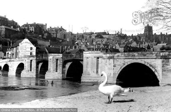 Bridgnorth, Severn Bridge c.1950