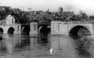 Bridgnorth, Severn Side c.1950