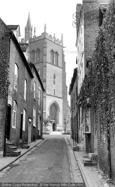 Bridgnorth, St Leonard's Church c.1960