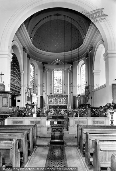 Bridgnorth, St Mary Magdalene Interior c.1960
