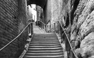 Bridgnorth, Stoneway Steps c.1960