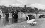Bridgnorth, The Banks Of The Severn c.1950