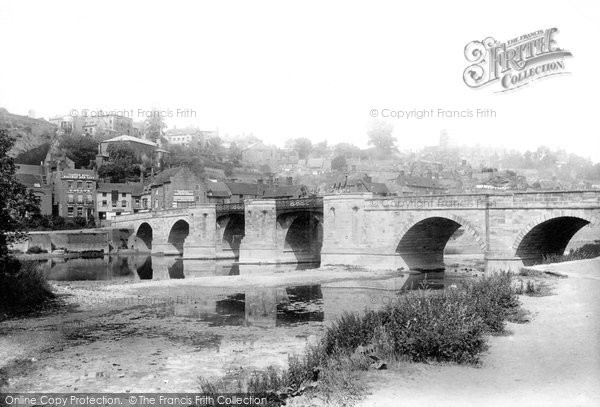Bridgnorth, The Bridge 1896