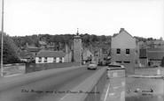Bridgnorth, The Bridge And Clock Tower c.1965