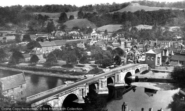 Bridgnorth, The Bridge c.1950