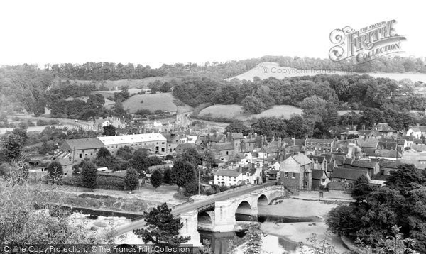 Bridgnorth, The Bridge c.1960