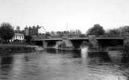 Bridgnorth, The Bridge c.1960