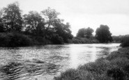 Bridgnorth, The River c.1955