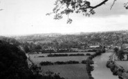 Bridgnorth, The River From High Rock c.1955