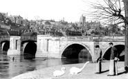 Bridgnorth, The Severn Bridge c.1950