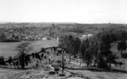 Bridgnorth, The Town From Hermitage Hill c.1965
