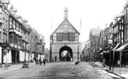 Bridgnorth, The Town Hall 1896