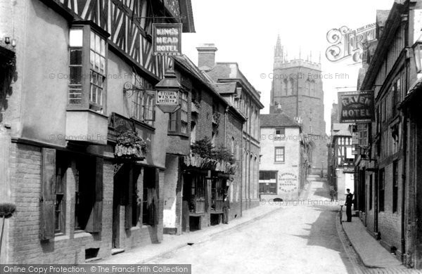 Bridgnorth, Whitburn Street 1898