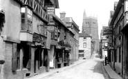 Bridgnorth, Whitburn Street 1898