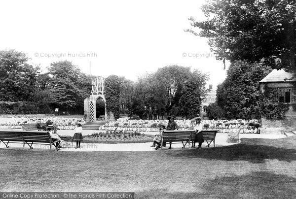 Bridgwater, Blake Gardens 1906