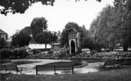 Bridgwater, Blake Gardens c.1950