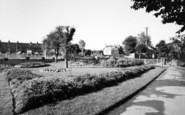 Bridgwater, Blake Gardens c.1955