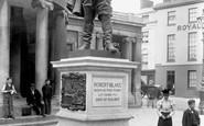 Bridgwater, Blake's Statue 1901