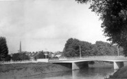 Bridgwater, Broadway Bridge c.1960