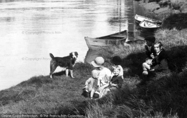 Bridgwater, By The River Parrett 1927