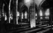 Bridgwater, Church Interior 1901