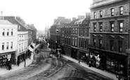 Bridgwater, Cornhill 1890