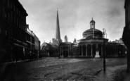 Bridgwater, Cornhill 1900