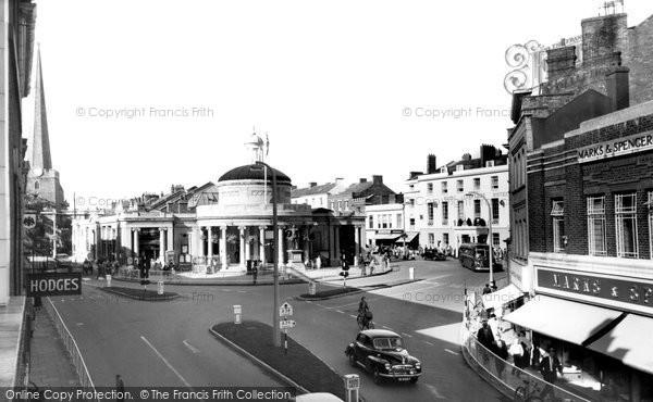 Bridgwater, Cornhill c.1955