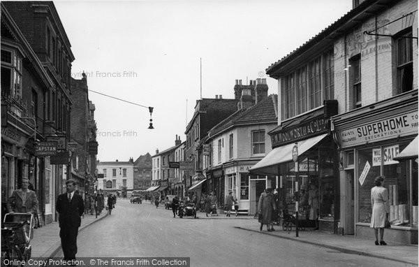 Bridgwater, Eastover c.1955