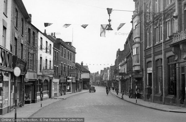 Bridgwater, Eastover c.1955