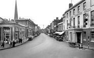 Bridgwater, High Street And Royal Clarence Hotel 1936