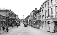 Bridgwater, High Street c.1950