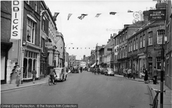 Bridgwater, High Street c.1955