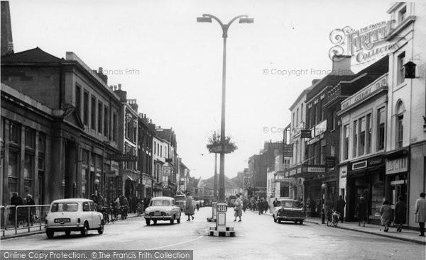 Bridgwater, High Street c.1960