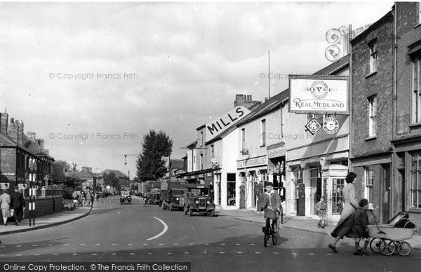 Bridgwater, Monmouth Street c.1955