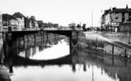 Bridgwater, Old Bridge c.1965