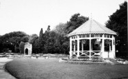 Bridgwater, Park And Bandstand c.1960