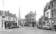Bridgwater, Penel Orlieu And High Street c.1955
