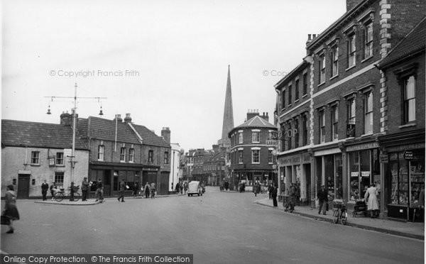 Bridgwater, Penel Orliew c.1955