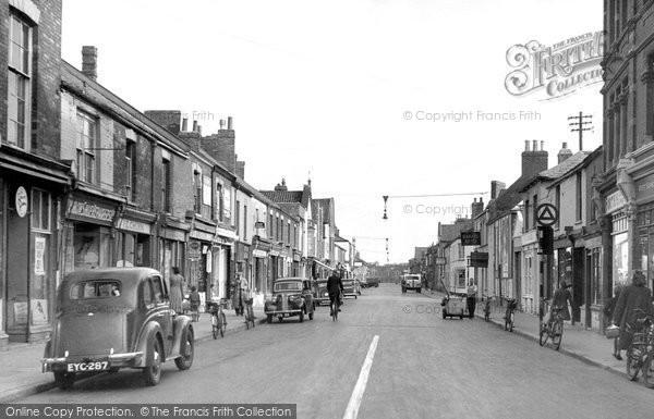 Bridgwater, St John Street c.1955