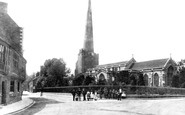 Bridgwater, St Mary's Church 1890