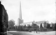 Bridgwater, St Mary's Church 1890