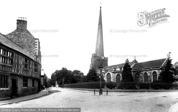 Bridgwater, St Mary's Church 1906