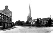 Bridgwater, St Mary's Church 1906