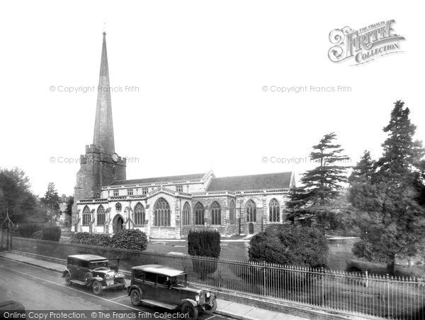Bridgwater, St Mary's Church 1936