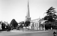 Bridgwater, St Mary's Church c.1955