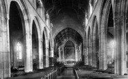 Bridgwater, St Mary's Church, Nave East 1890