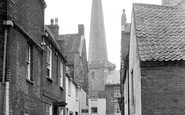 Bridgwater, St Mary's Church Spire 1936