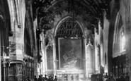 Bridgwater, St Mary's Parish Church Interior 1890