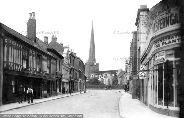 Bridgwater, St Mary's Street 1913